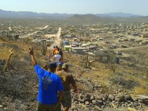 Prayer Hike through the mountains and colonias around La Paz.