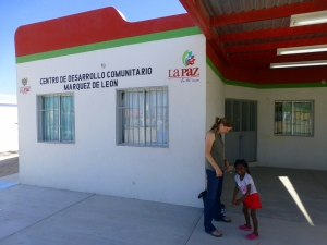 The local DIF building where we host ESL classes and run many of our summer day programs. We have an excellent partnership with the local government.